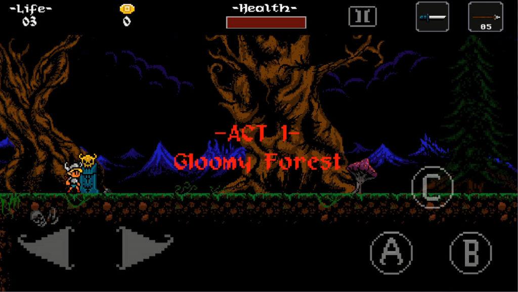 ghoulboy ゲーム画面1