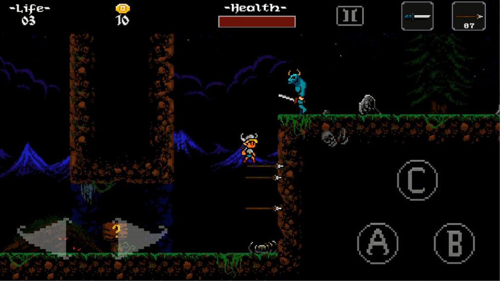 ghoulboy ゲーム画面3