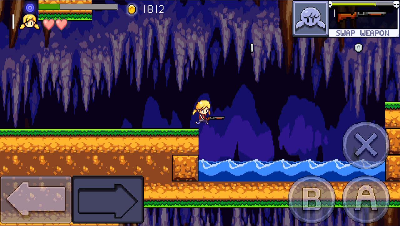 Cally's Caves 2 落ちたらアウト