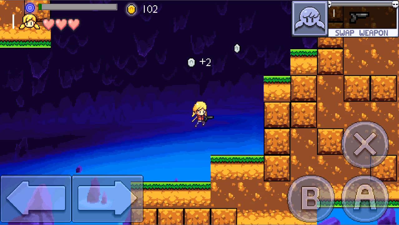 Cally's Caves 2 ジャンプ!