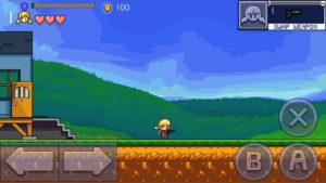 Cally's Caves 2 ゲーム画面
