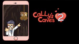 Cally's Caves 2 タイトル画面
