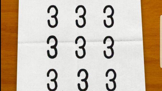 母の置き手紙 1問目