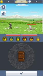ピクセルサモナー ゲームメイン画面