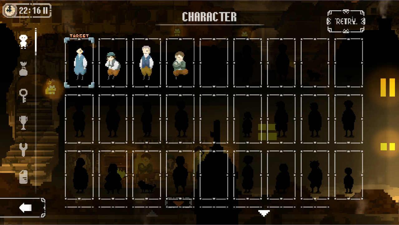 マジョのシマ キャラクター登録