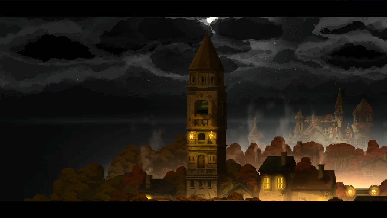 マジョのシマ 鐘のある塔