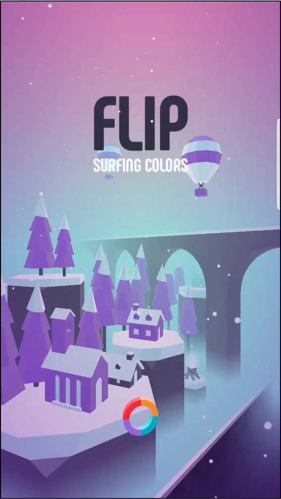 FLIP タイトル画面