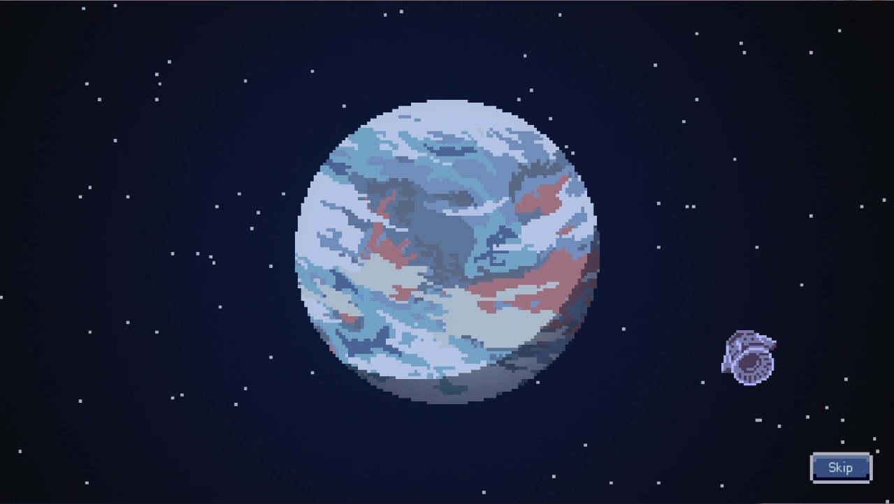 INO 惑星に向かうロケット