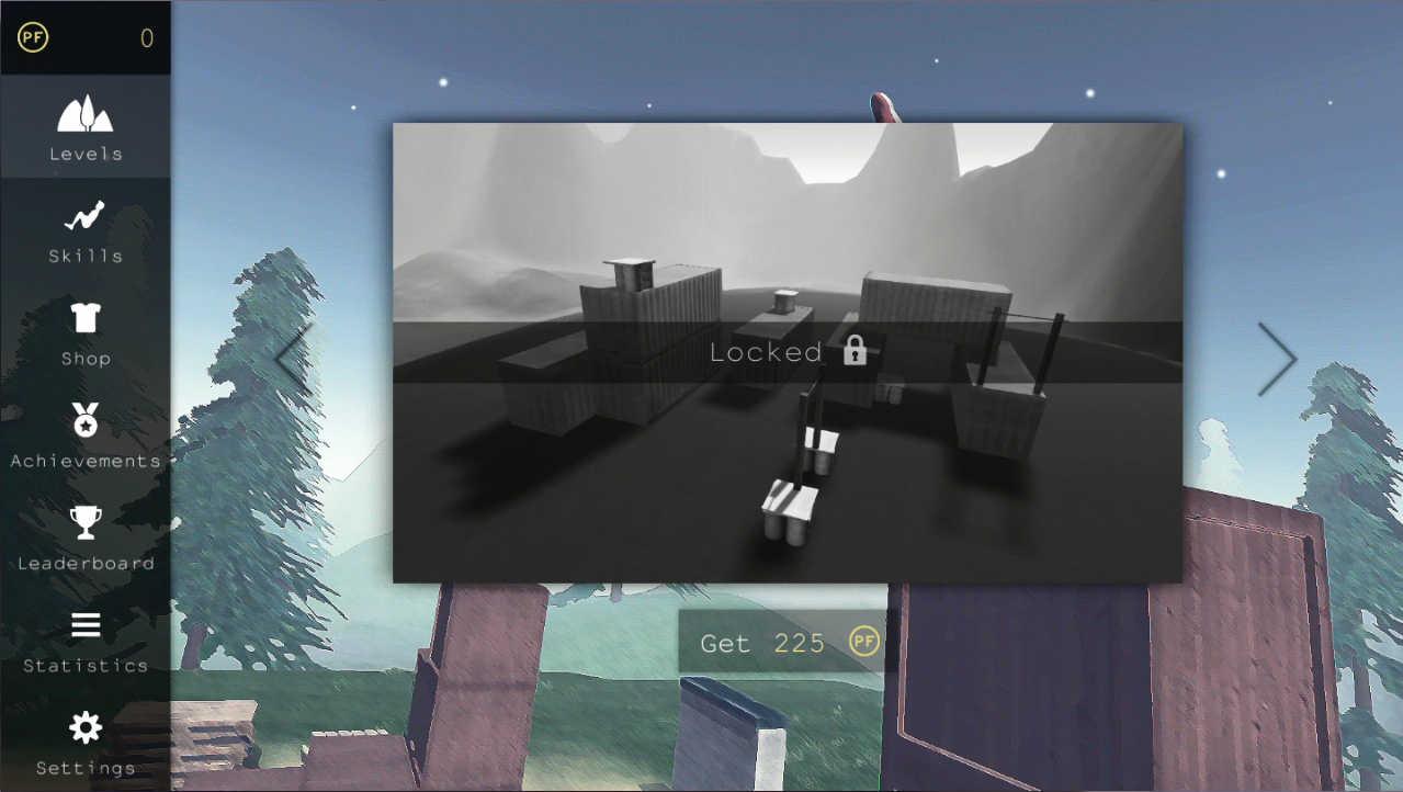 Parkour Flight 2 ステージ解放するとまた違うところで遊べます