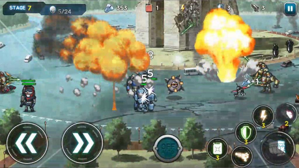 ロボッツー ロボット同士の熱い戦いと思って画面を見ればきっと