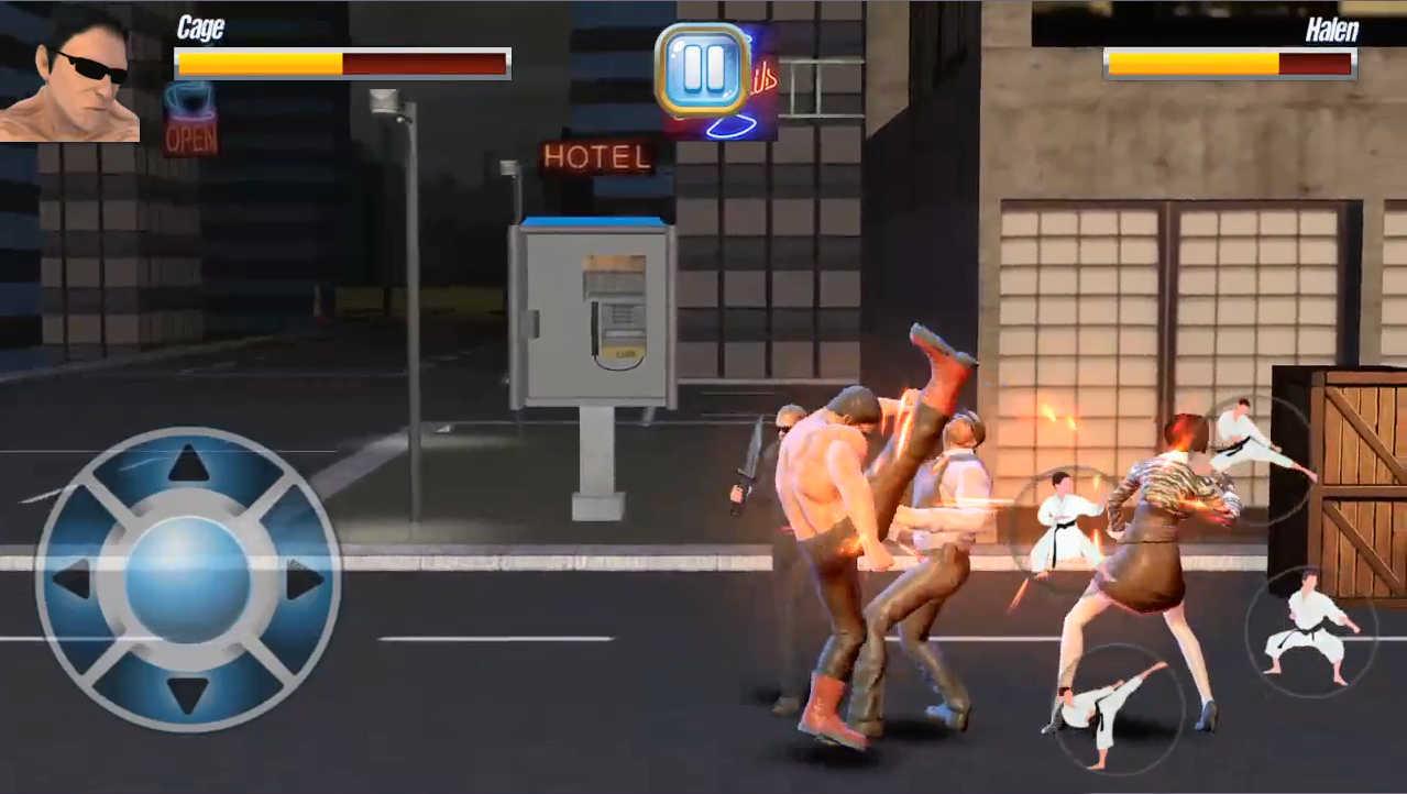 StreetRageFighter 3人目は武道派でなかなか強い印象です