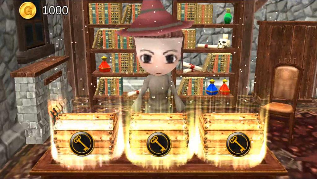 勇者のポケット 3つの宝箱の中からドクロを選ばないようチョイス