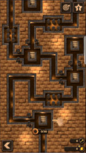 Ancient Bricks 大きいステージに分けられてます