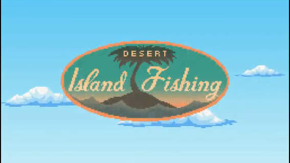 Desart Island Fishing タイトル画面