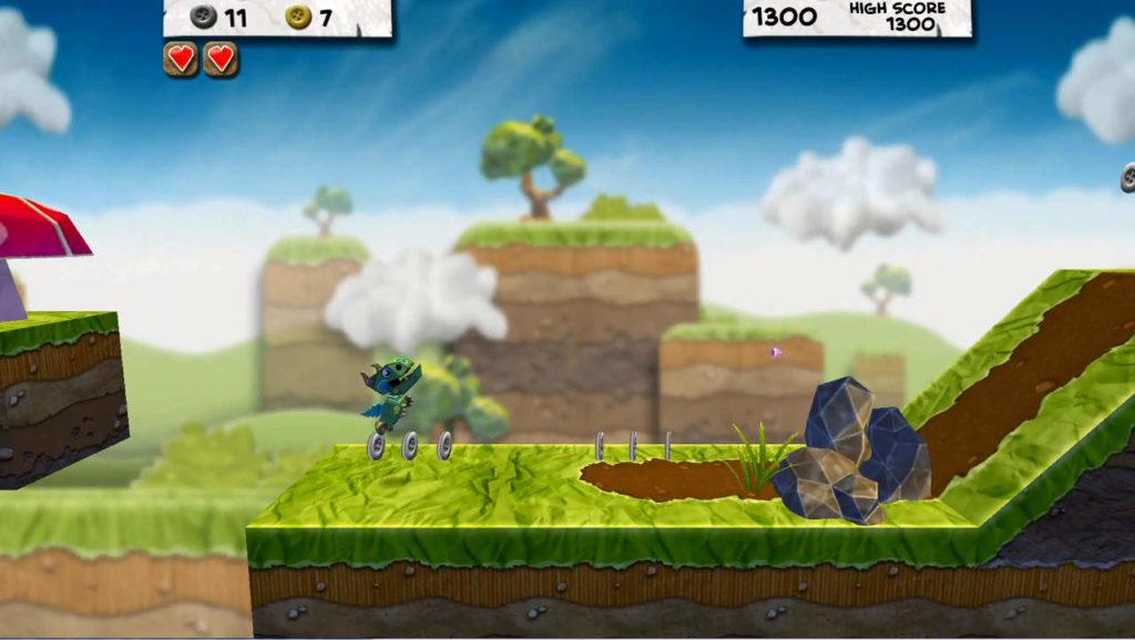 Paper Monsters ランニングゲーム