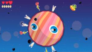 PlanetQuest ゲーム中