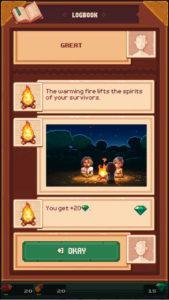 Tinker Island 火を起こせた!