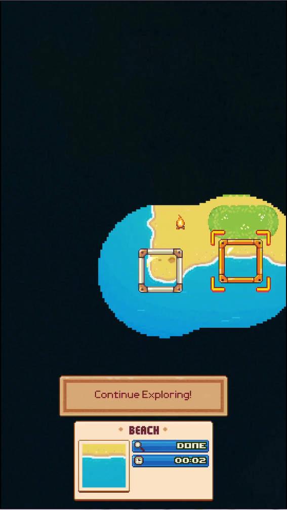 Tinker Island 新しいエリア