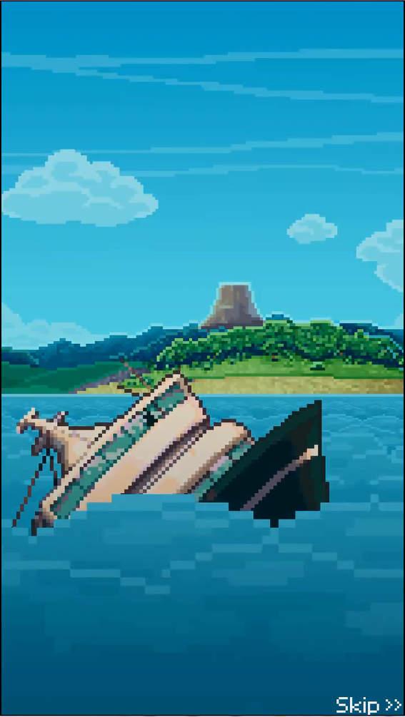 Tinker Island オープニング画面