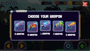 metal shooter 武器チョイス