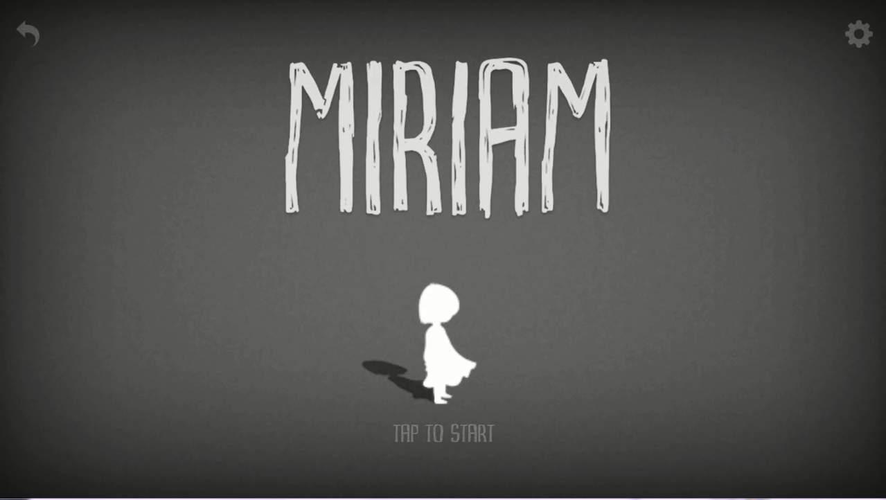 MIRIAM タイトル画面