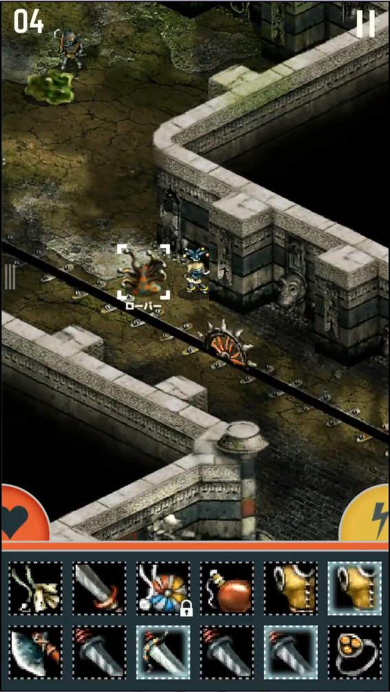 TRIGLAV ゲーム画面