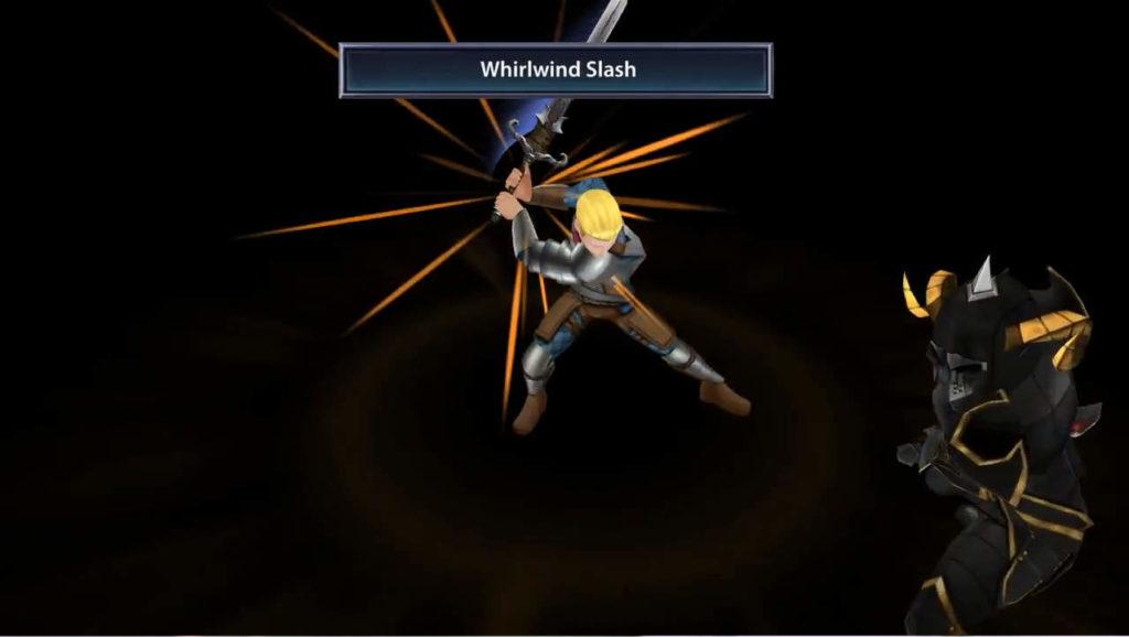 ChronoClash チュートリアル画面