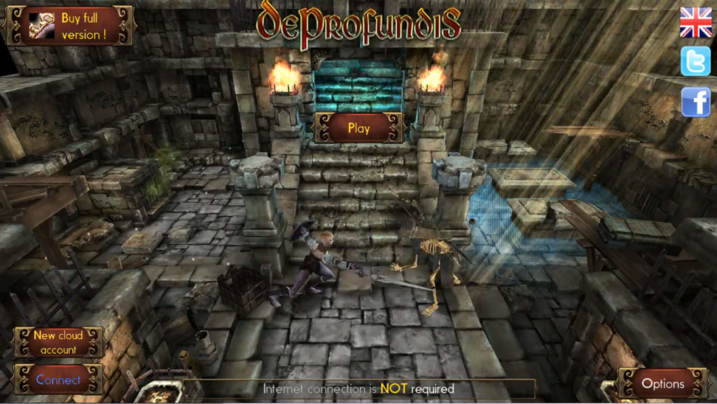 Deprofundis:Requiem タイトル画面