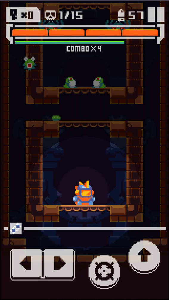 TOWER FORTRESS ゲーム画面