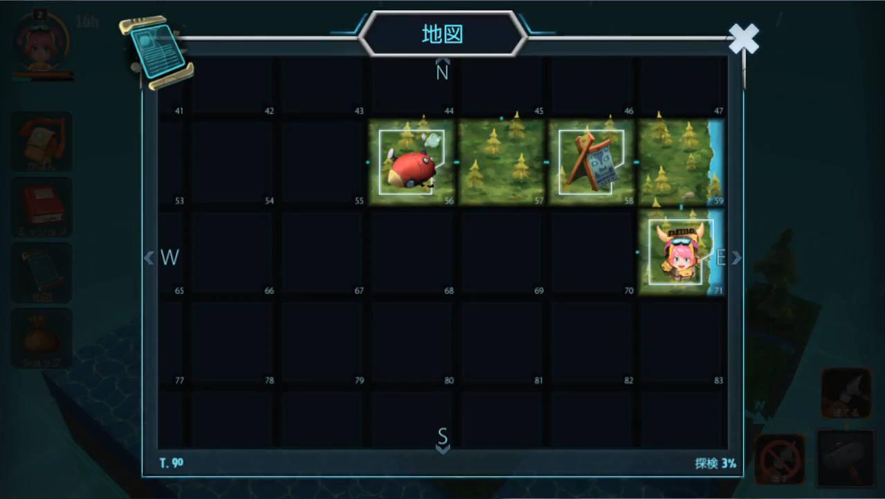 Ankora マップ画面