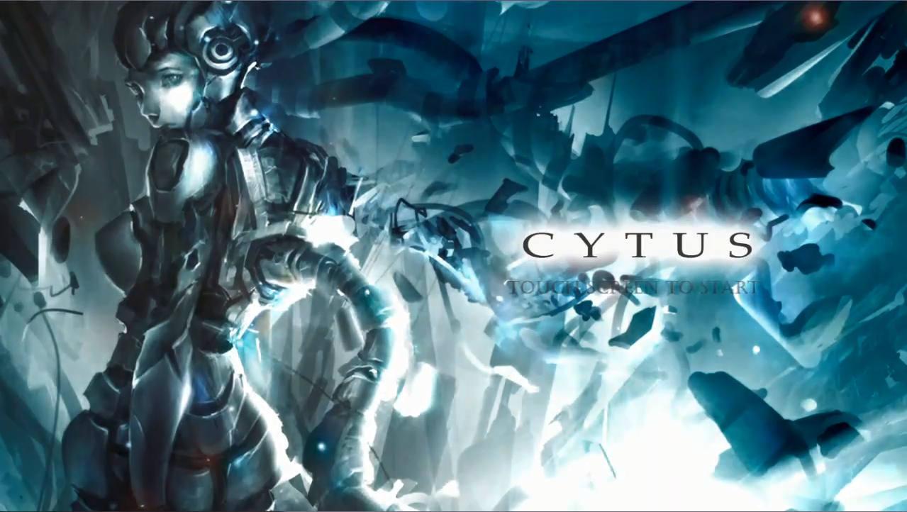Cytus タイトル画面