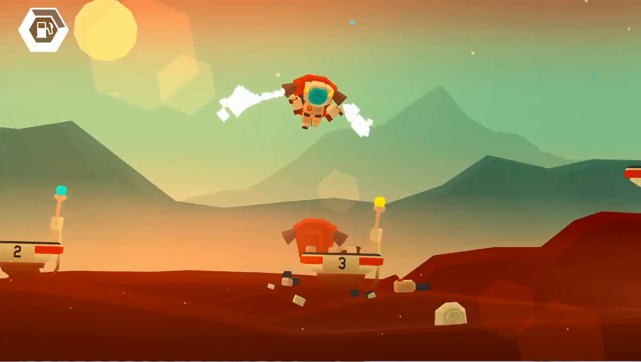 Mars:Mars 絶妙な操作加減が難しい