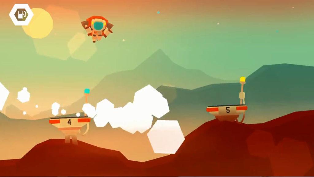 Mars:Mars まずはポイントからジャンプ!
