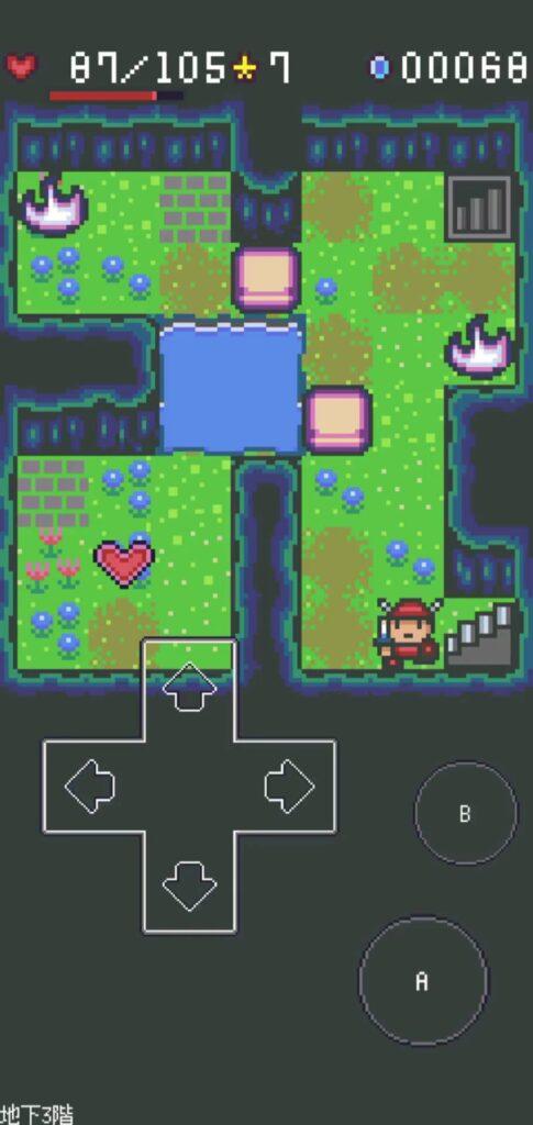魔界迷宮ポケットRPG プレイイメージ