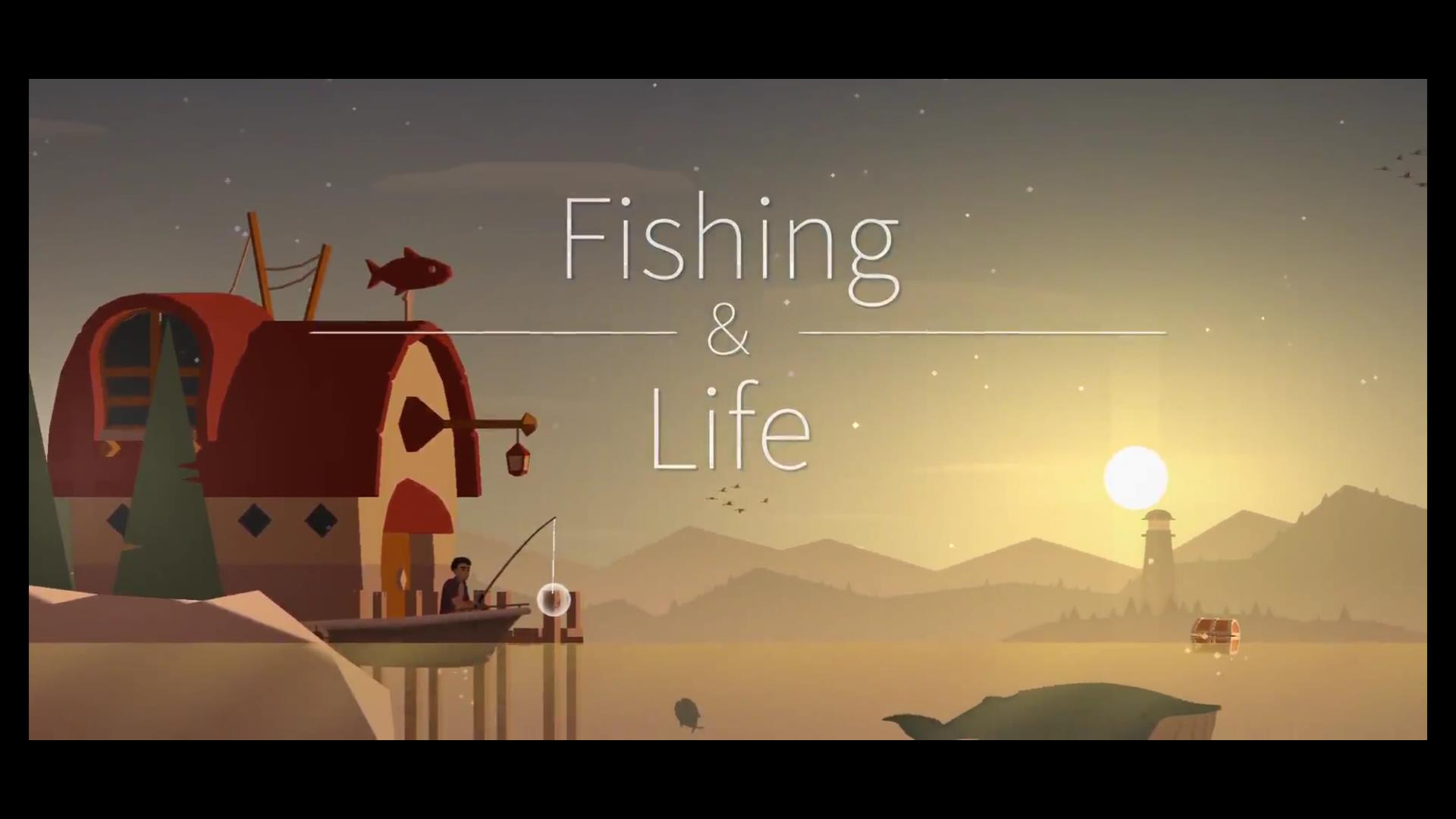 Fishing & Life タイトル画面