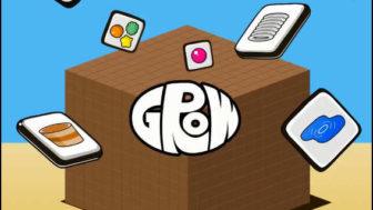 懐かしいあのFLASHゲームをもう一度「GROW CUBE Ω」